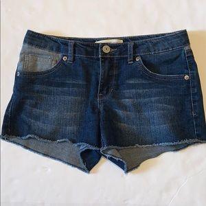 Levi's Shorty Shorts Size 14 Reg Denim Shorts
